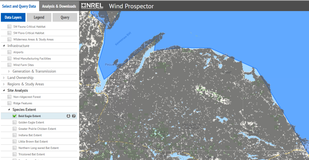 NREL: Wind Maps – Save The Huron Mountains