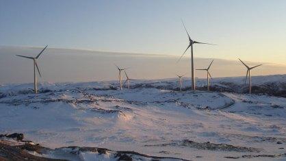 Bessakerfjellet wind farm