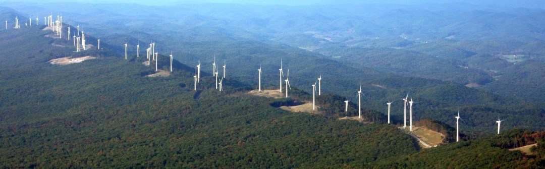 Laurel Mountain wind and battery storage