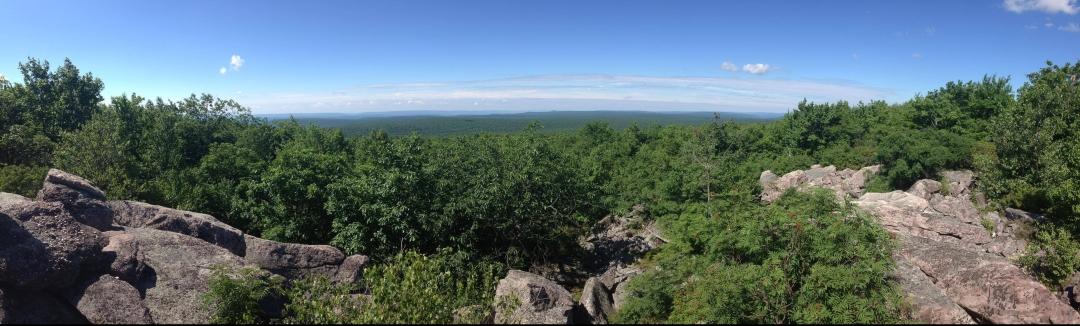 Pocono ridge