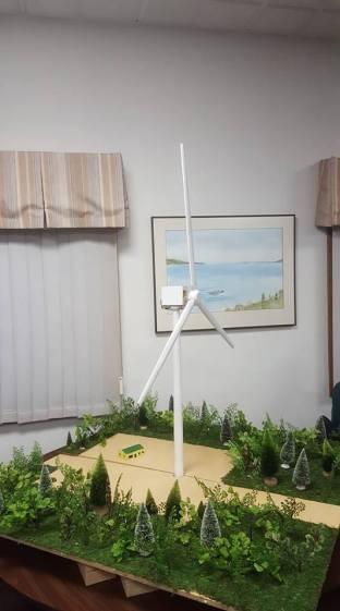 scale model turbine
