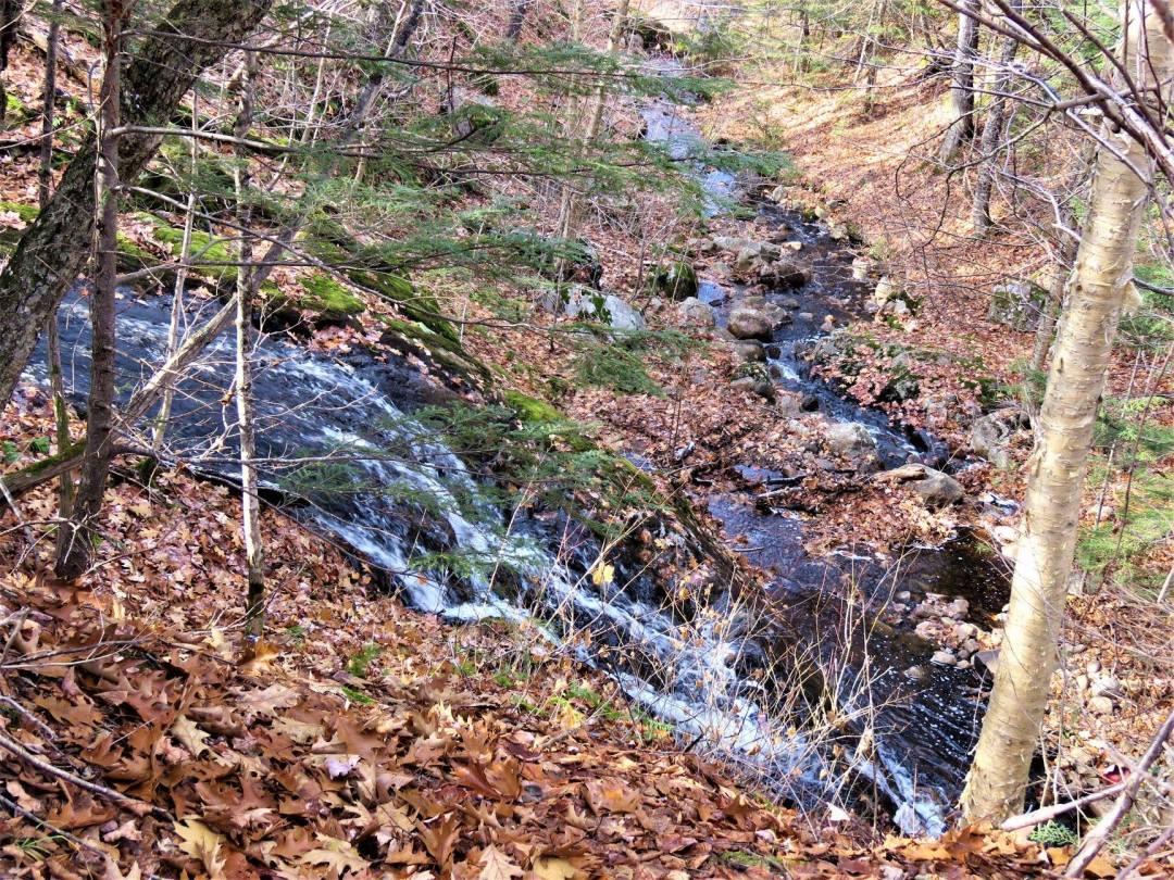 Waterfall drop