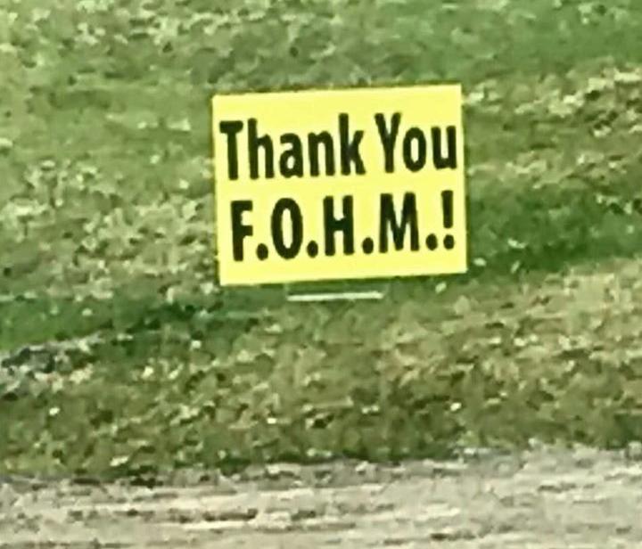 Thank You FOHM